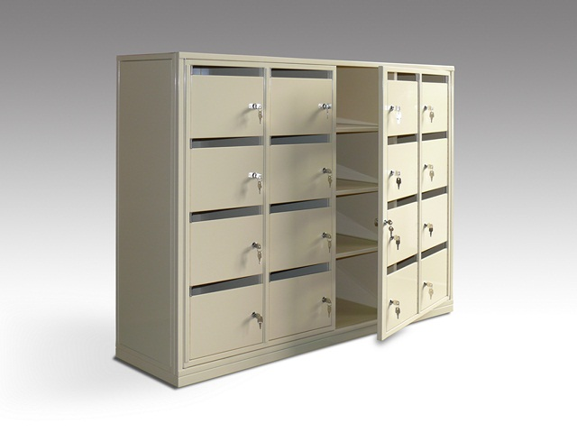 Trieur courrier tout métal M1 (mobilier trieur courriers)