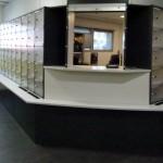 salle tri courrier en angle